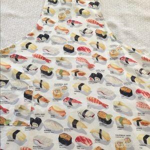 New sushi Apron Adult Sized